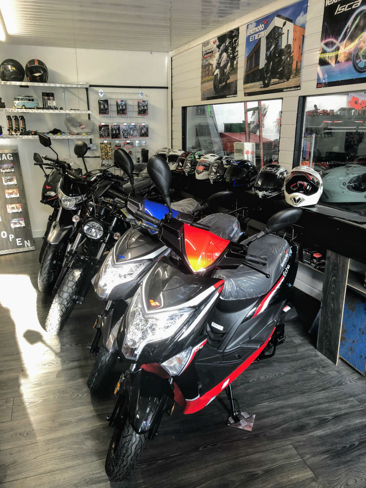 MAG Autos and Motorcycles Keighley Garage Lexmoto Dealer